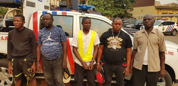 Lagos Council Staff Arrested For Extortion
