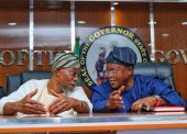 Images Of Aregbesola's Visit To Oyetola With Interior Ministry Management Ahead 2020 Retreat
