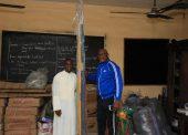 Omo-Agege Donates Sports Equipment To School