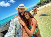 After BBN, Mike Finally Hooks Up With Wife For Honeymoon In Mauritius, See Photos