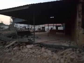 Photo of Kwara Begins Demolition Of Saraki's Property On Disputed Land