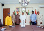 In Pictures, Aregbesola Receives Leadership Of Osogbo Chapter Of NSE