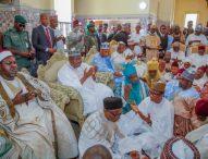Lawan Graces Emir Of Bade's Daughters' Wedding In Yobe