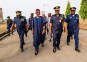 Images Of Aregbesola's Visit To National Fire Academy, Abuja
