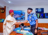 In Pictures, Aregbesola Visits IGP, Inspects Interpol Facilities