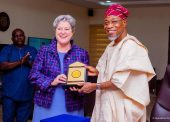 Images Of US Ambassador Mary Beth Leonard's Visit To Aregbesola