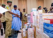In Pictures, Aregbesola At Flag-off Of Drugs, Medical Supplies Distribution To Correctional Service Centres
