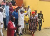 Exclusive Pictures Of Apostle Toba Oke's Return To Office