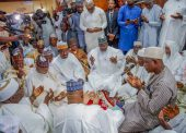 Photo News: Senate President At Senator Sani Musa's Brother's Wedding