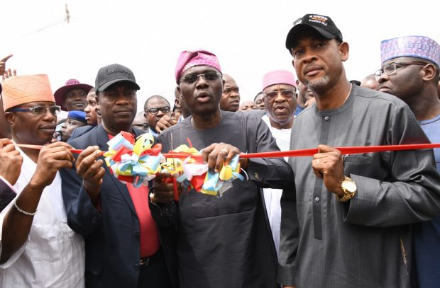 'Rain' Of Projects In Bariga As Sanwo-Olu Commissions 11 Roads, Others + Photos